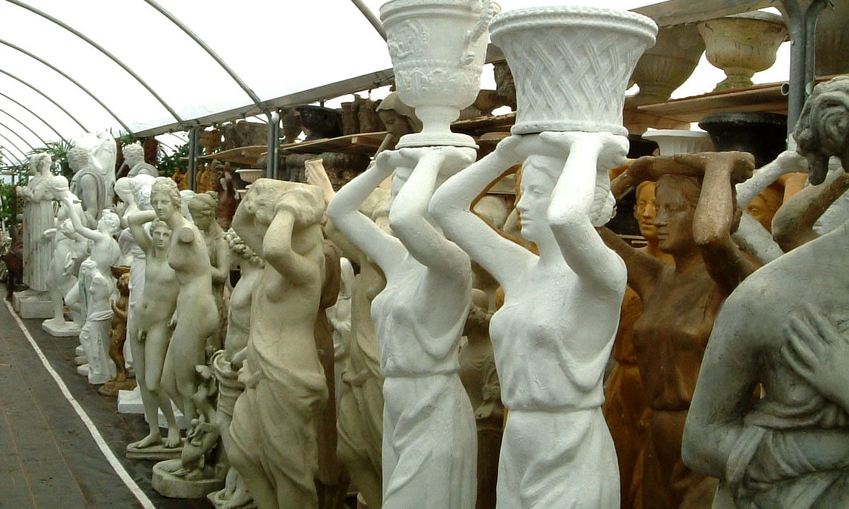 statues, busts, ornaments image